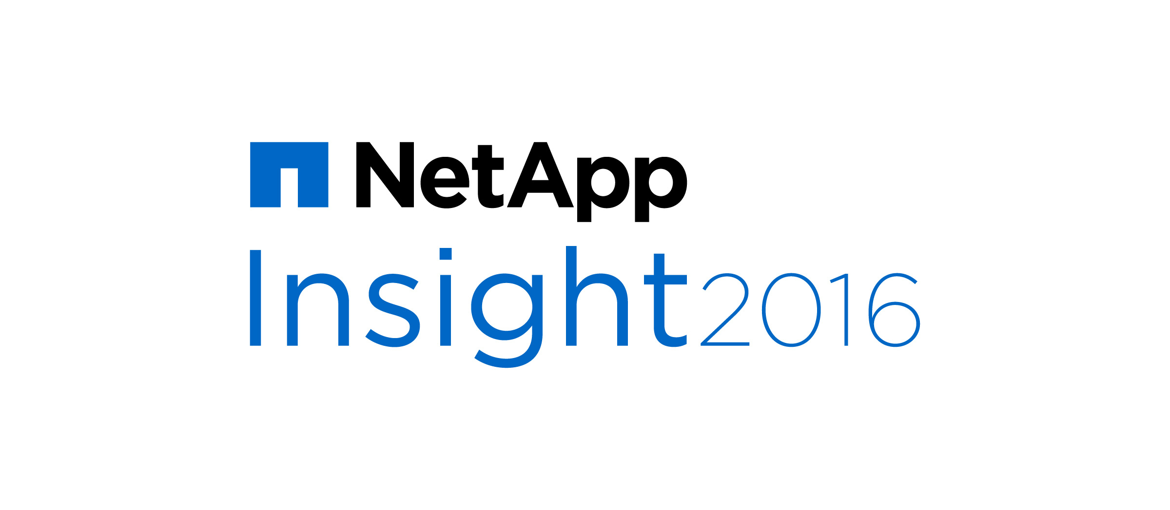 NetApp Insight 2016 in Retrospect